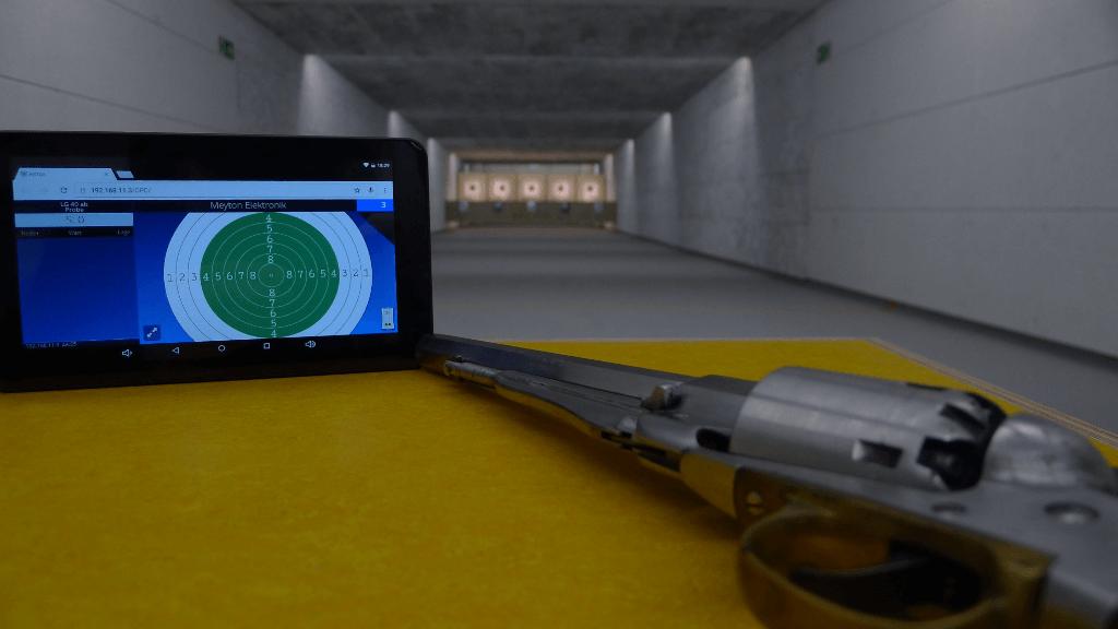 Schießanlage 25m mit Equipment